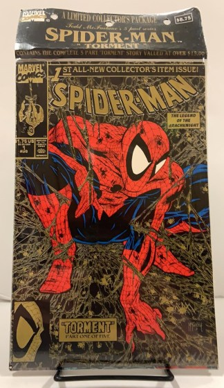Spider-Man #1-5 Torment SEALED Collector's Package Marvel 1990 Todd McFarlane