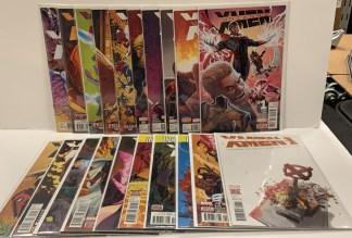 Uncanny X-Men #1-19 + Annual #1 Complete Set Marvel 2016 VF/NM