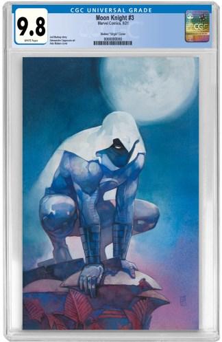 Moon Knight #3 Ultimate Exclusive Alex Maleev Virgin Variant CGC 9.8 NM/NM+ PREORDER