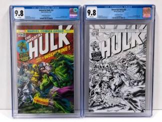 Immortal Hulk #33 Exclusive #750 Bennett #181 Homage Sketch Variant Set CGC 9.8