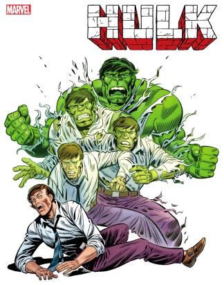 Hulk #1 1:100 Herb Trimpe Hidden Gem Variant Marvel 2020 Donny Cates Ryan Ottley