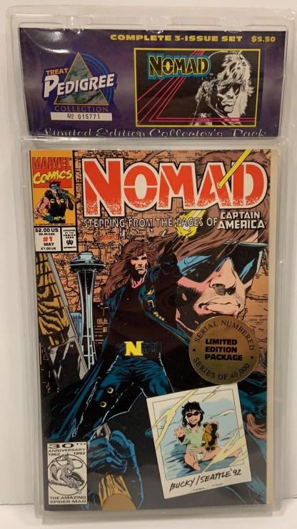 Nomad Collector's Set #1-3 SEALED Treat Pedigree Marvel 1992 VF/NM