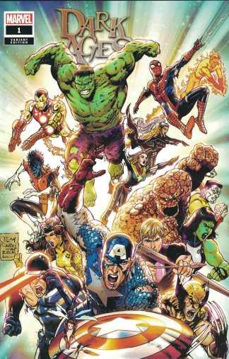 Dark Ages #1 Wonderworld Tony S Daniel Exclusive Variant Marvel 2021