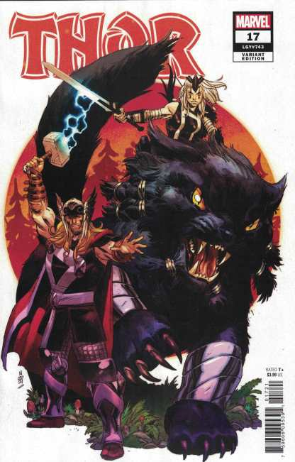 Thor #17 1:25 Nic Klein Variant Donny Cates Marvel 2020