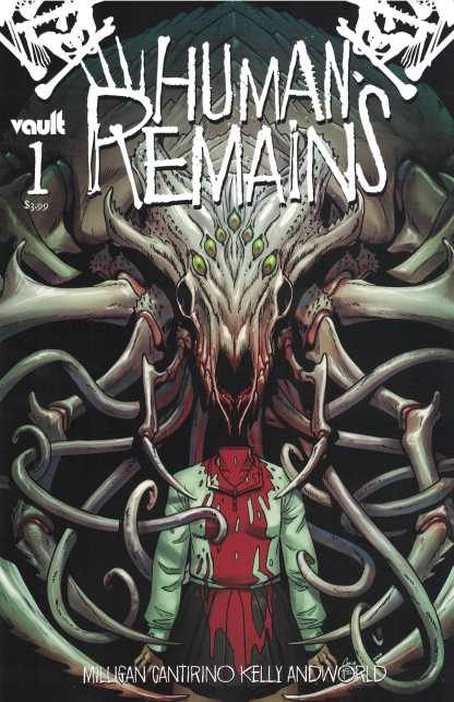 Human Remains #1 1:15 Corin Howell Variant Vault 2021