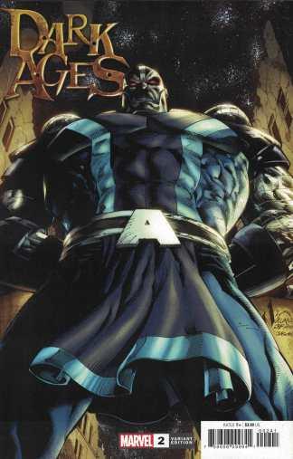 Dark Ages #2 1:50 Ryan Stegman Variant Apocalypse Marvel 2021