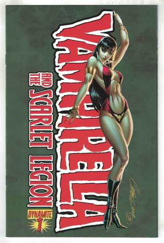 Vampirella and the Scarlet Legion #1 J. Scott Campbell Dynamite 2011 VF/NM