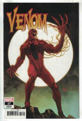 Venom #17 1:25 Dave Johnson Variant Eddie Brock Carnage Marvel 2018 VF/NM