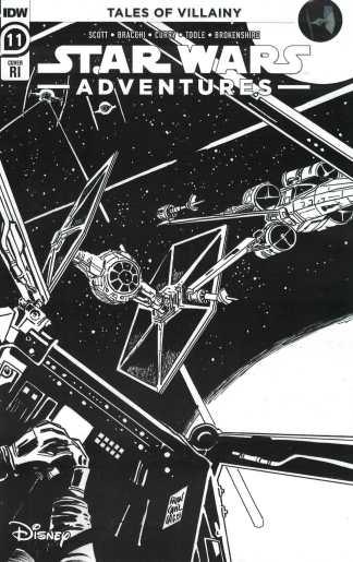 Star Wars Adventures #11 1:10 Francavilla Variant IDW 2020