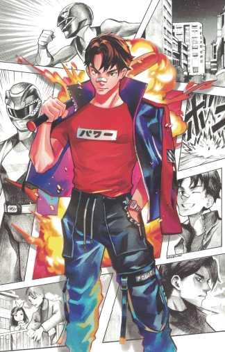 Power Rangers #11 Gonzales Virgin Variant Boom 2020