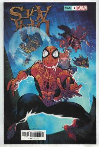 Dark Ages #1 1:25 Manapul Variant Tom Taylor Marvel 2021 VF/NM