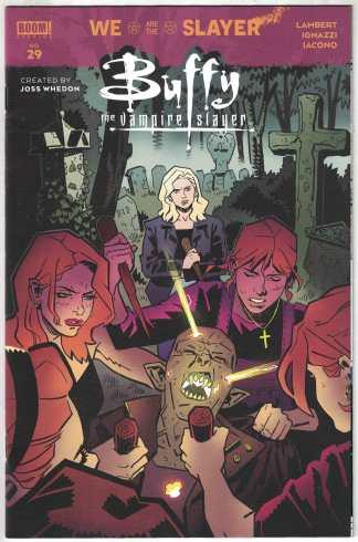 Buffy the Vampire Slayer #29 1:25 Claire Roe Variant Boom! 2019 Lambert VF/NM
