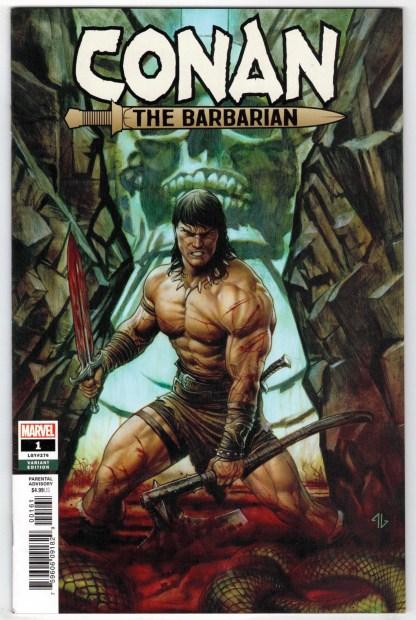Conan the Barbarian #1 1:50 Adi Granov Variant Marvel 2018 VF/NM