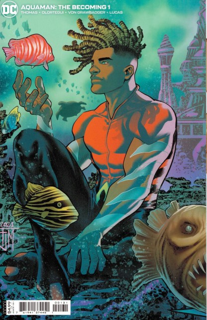 Aquaman the Becoming #1 1:25 Francis Manapul Variant DC 2021