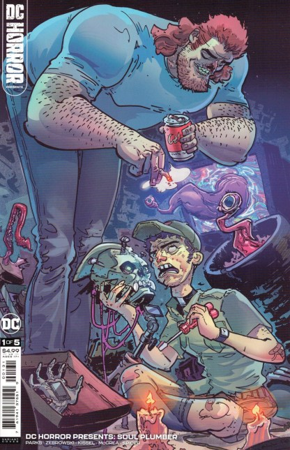 DC Horror Presents Soul Plumber #1 1:25 Riley Rossmo Variant DC 2021