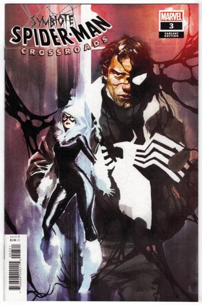 Symbiote Spider-Man Crossroads #3 1:25 Gerald Parel Variant Marvel 2021 VF/NM