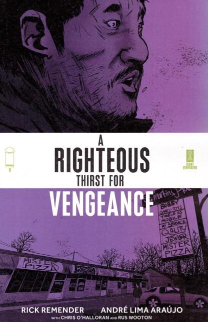 Righteous Thirst for Vengeance #1 1:10 Sanford Greene Variant Image 2021
