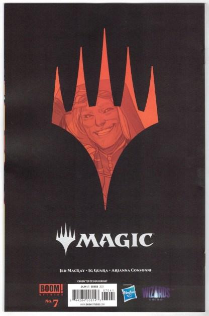 Magic the Gathering #7 1:10 Ig Guara Variant Boom 2021 Ravnica VF/NM