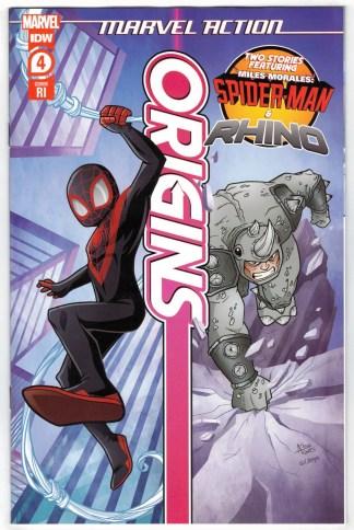 Marvel Action Origins #4 1:10 Agnes Garbowska Variant IDW 2021 VF/NM