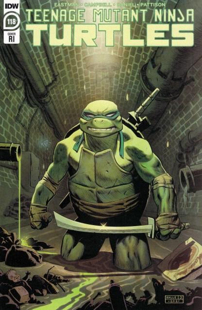 Teenage Mutant Ninja Turtles #118 1:10 Karl Johnsson Variant IDW 2011