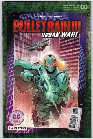 Batman #114 1:25 Dylan Teague Video Game Box Variant DC 2016 VF/NM