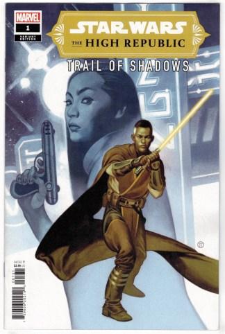 Star Wars High Republic Trail of Shadows #1 1:25 Tedesco Variant 2021 VF/NM
