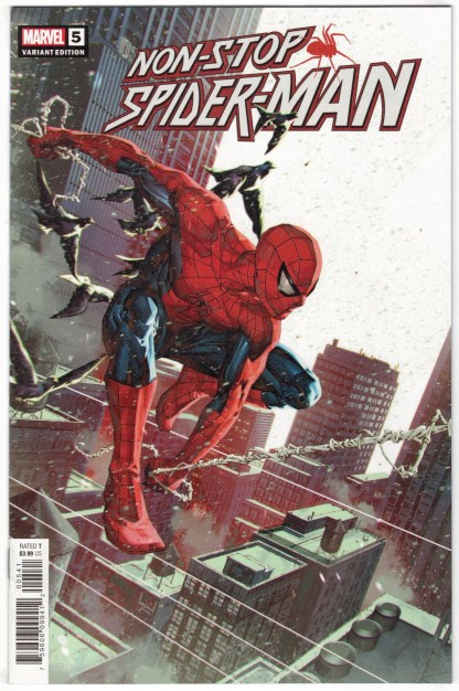Non-Stop Spider-Man #5 1:25 Kael Ngu Variant Marvel 2021 VF/NM