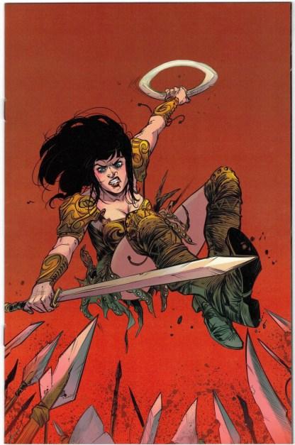 Xena Warrior Princess #4 1:10 Ig Guara Virgin Variant Dynamite 2018 Finch VF/NM