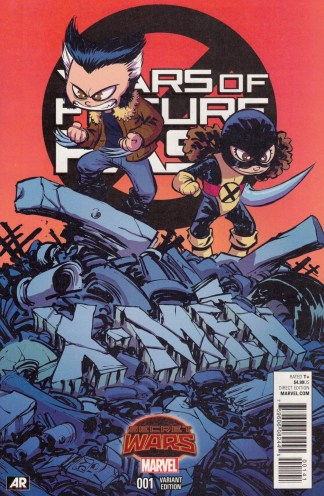 Years of Future Past #1 Skottie Young Variant Wolverine Marvel 2015 Bennett
