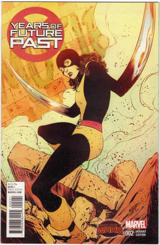 Years of Future Past #2 1:25 Norton Variant Kitty Pryde Marvel 2015 Bennett VF/NM