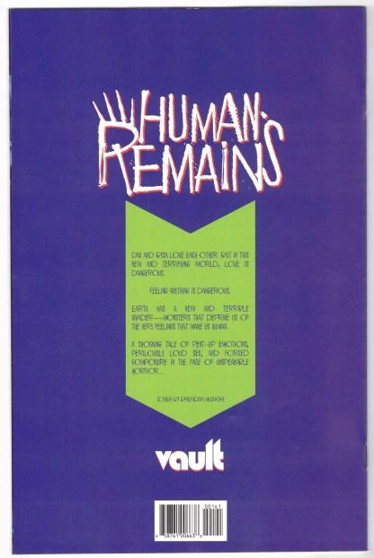 Human Remains #1 1:30 Brendan McCarthy Variant Vault 2021 VF/NM