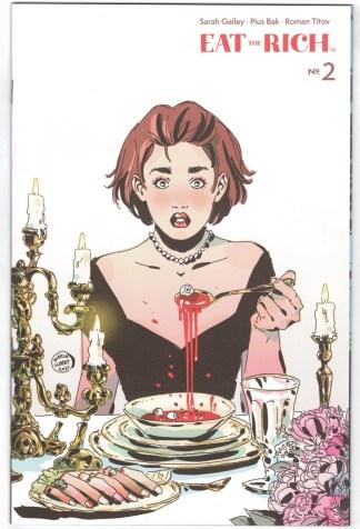 Eat the Rich #2 1:25 Maria Llovet Variant Boom! 2021 VF/NM