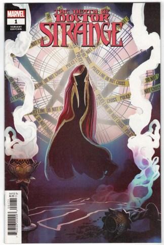 Death of Doctor Strange #1 1:25 Stephanie Hans Variant Marvel 2021 VF/NM