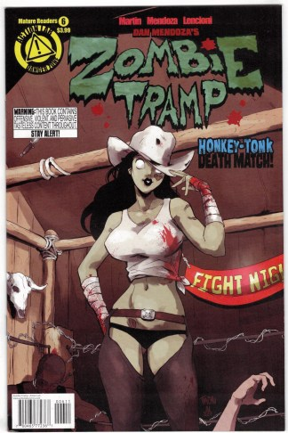 Zombie Tramp #6 TMChu A CVR Action Lab 2014 VF/NM