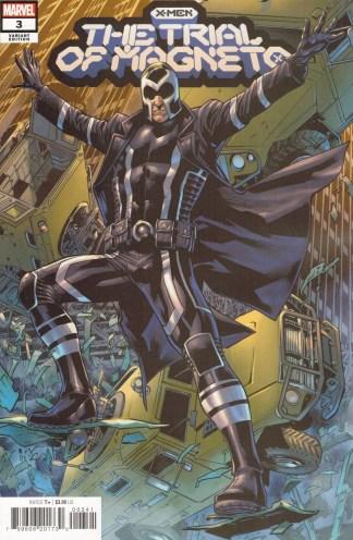 X-Men Trial of Magneto #3 1:25 Bryan Hitch Variant Marvel 2021
