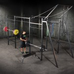 Crossfit Training At Home In A Garage Gym