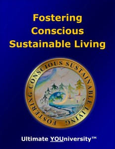 Fostering Conscious Sustainable Living, One of 14 Living Skills Categories