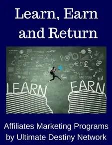 Learn, Earn and Return - Strategic Marketecture