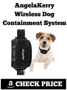 AngelaKerry Wireless Dog Containment System:
