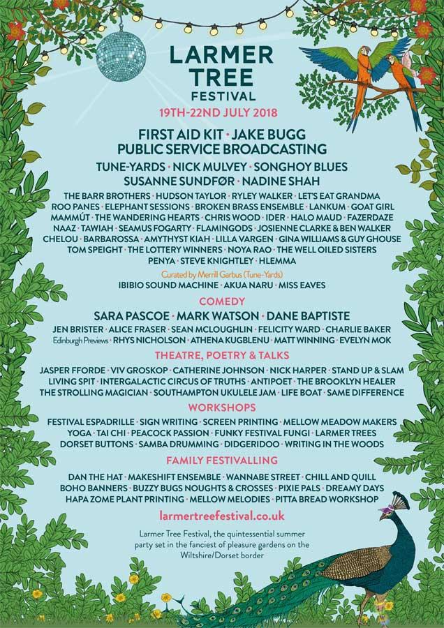 Larmer Tree Festival UK 2018