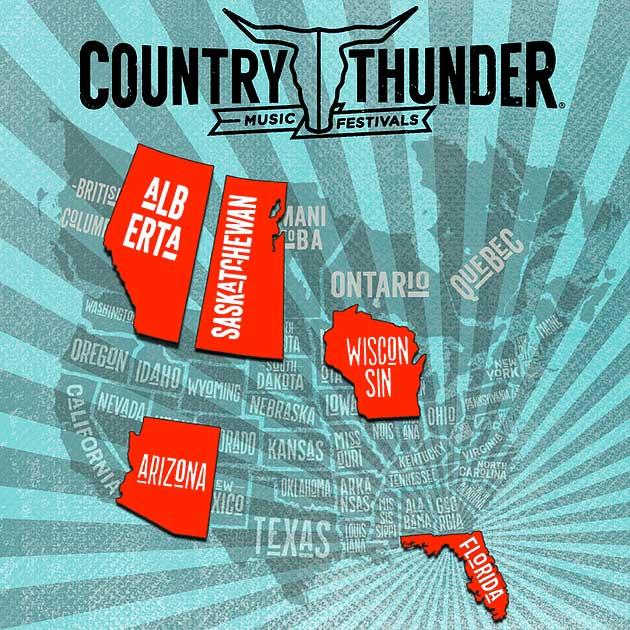 Country Thunder Festivals USA