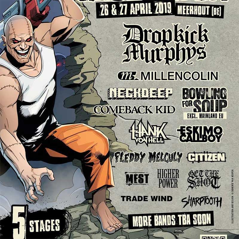 Groezrock Festival 2019 first bands poster