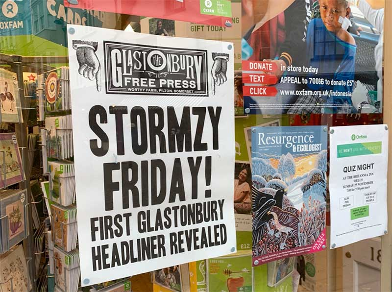 Stormzy to headline Glastonbury Festival 2019 poster