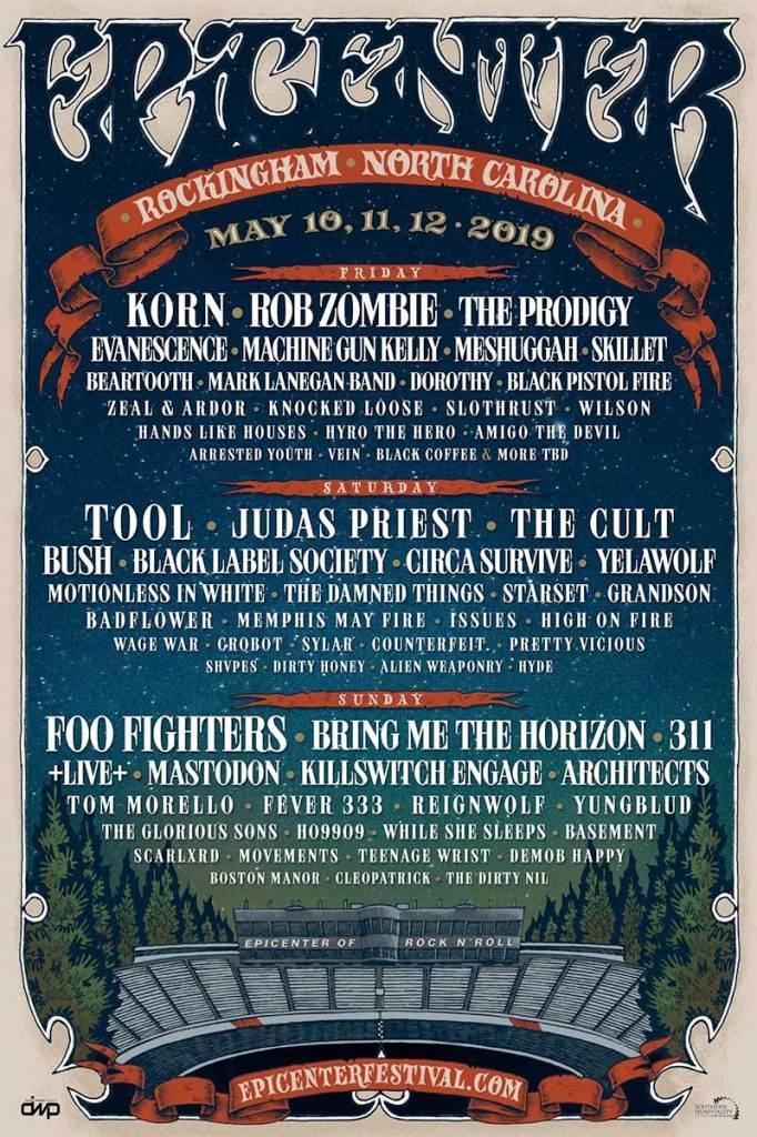 Epicenter Festival 2019 USA poster
