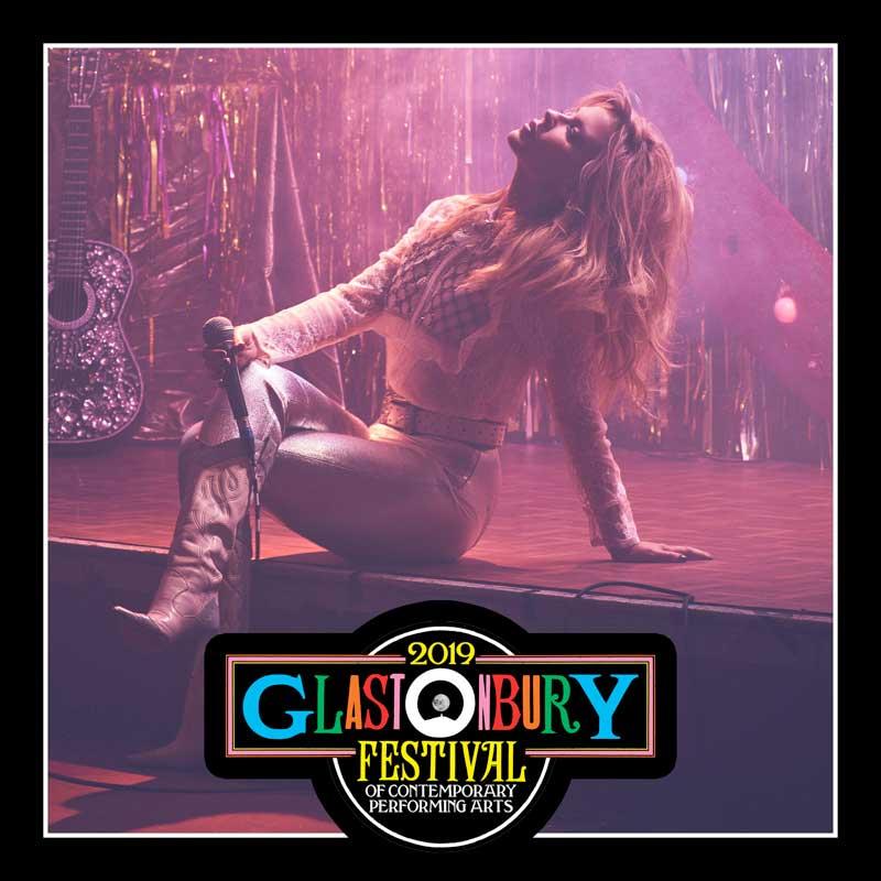 Kylie Minogue Glastonbury Festival 2019 poster