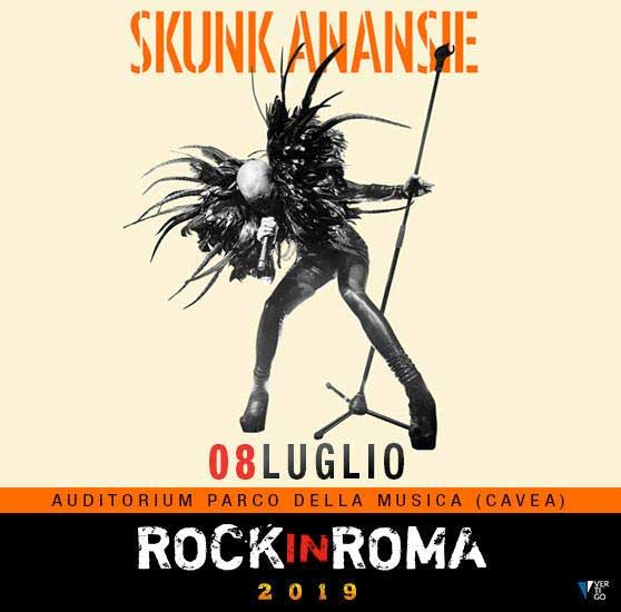Skunk Anansie Rock in Roma 2019 poster
