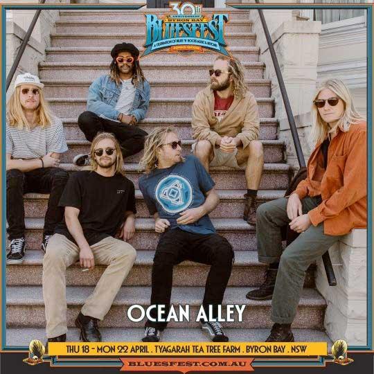 Ocean Alley to play Bluesfest Byron Bay 2019