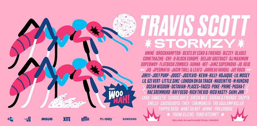 Woo Hah Festival 2019 latest poster additions