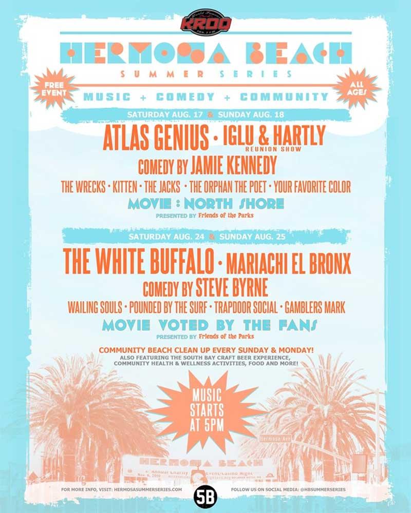 Hermosa Beach Summer Series 2019 poster