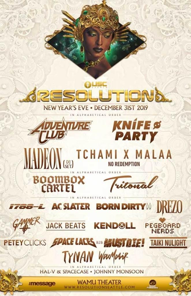 Resolution Festival 2019 Seattle poster